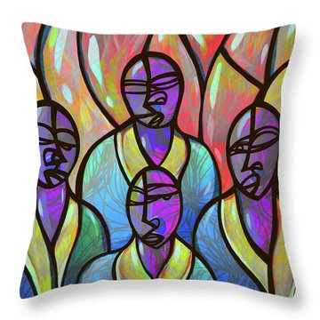 Choir Throw Pillow