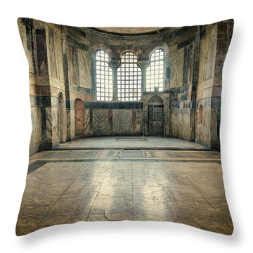 Chora Nave Throw Pillow by Joan Carroll