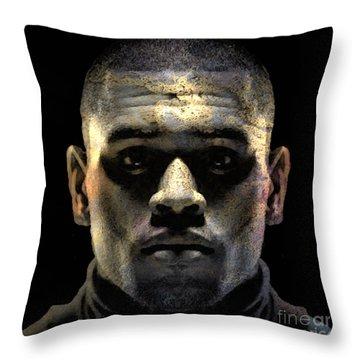 Chris Brown Throw Pillow