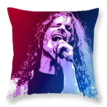 Chris Cornell 326 Throw Pillow