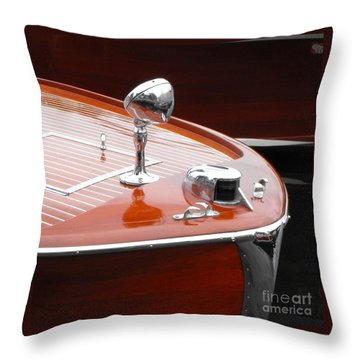 Chris Craft Utilty Throw Pillow