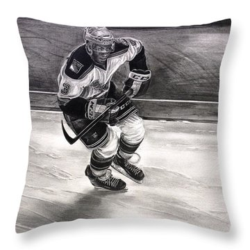 Chris Mccarthy Hartford Wolf Pack New York Rangers Throw Pillow