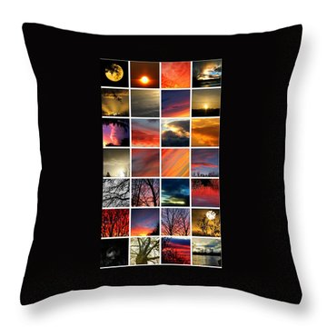 Chris's Greatest Hits Throw Pillow