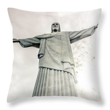 Christ The Redeemer Throw Pillow by Andrew Matwijec