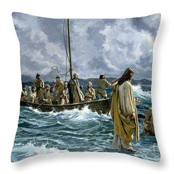 Messiah Paintings Throw Pillows