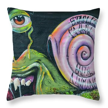 Christiania Mural Throw Pillow