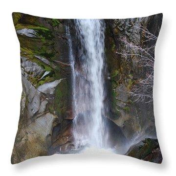 Christine Falls Throw Pillow