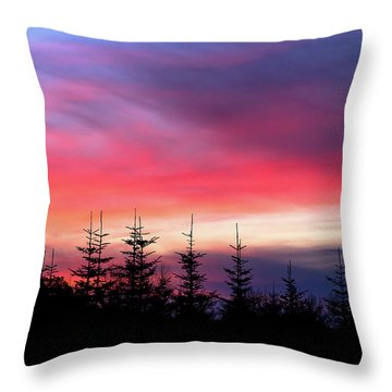 Christmas 2016 Sunset Throw Pillow