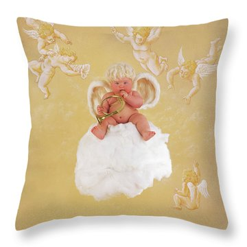 Cherub Throw Pillows