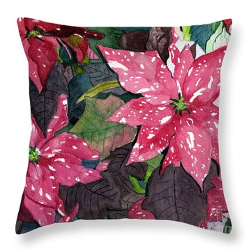 Christmas Beauty Throw Pillow