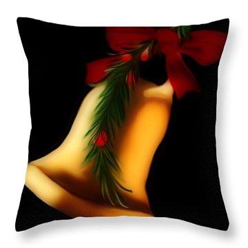 Christmas Bell Throw Pillow