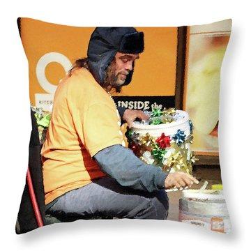 Throw Pillow featuring the photograph Christmas Cheer by Joe Jake Pratt