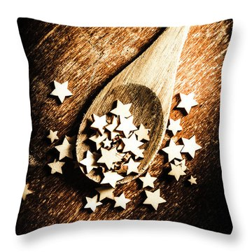 Christmas Cooking Throw Pillow