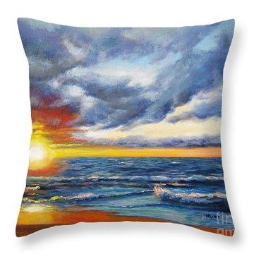 Christmas Cove Throw Pillow