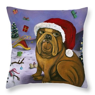 Christmas Crash Throw Pillow