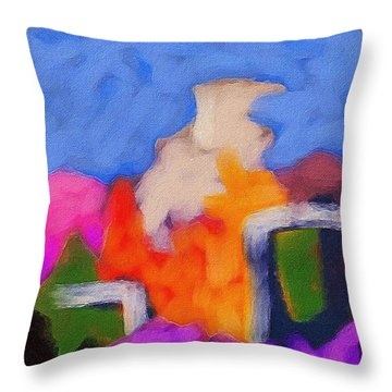 Christmas Day Throw Pillow by Judith Chantler