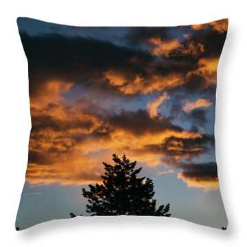 Christmas Eve Sunrise 2016 Throw Pillow