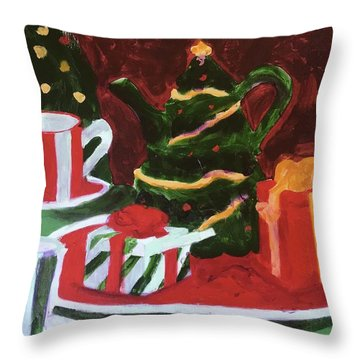 Christmas Holiday Throw Pillow