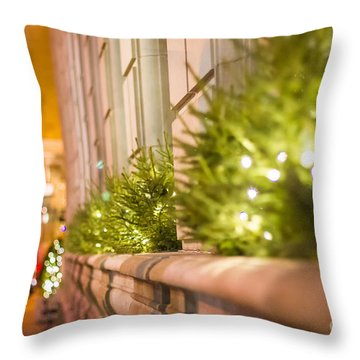 Christmas In St Paul Throw Pillow