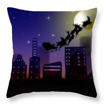 Christmas Landscape IIi Throw Pillow