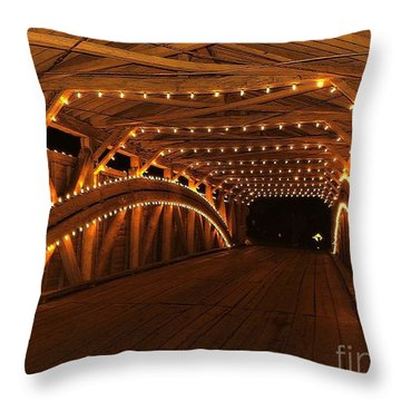 Christmas Luminance Throw Pillow