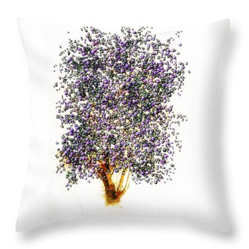 Christmas Spirit Throw Pillow by John Stuart Webbstock