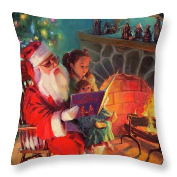 Christmas Story Throw Pillow
