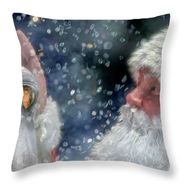 Christmas Touch Throw Pillow