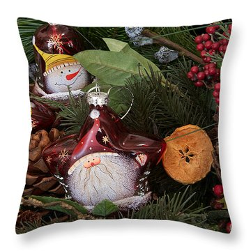 Christmas Tree Decor Throw Pillow