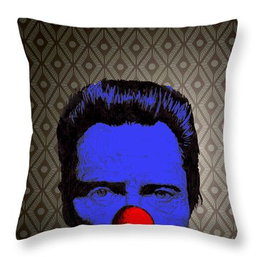 Christopher Walken 1 Throw Pillow by Jason Tricktop Matthews