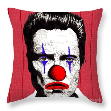 Christopher Walken 2 Throw Pillow by Jason Tricktop Matthews