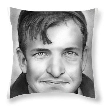 Christy Mathewson Throw Pillow