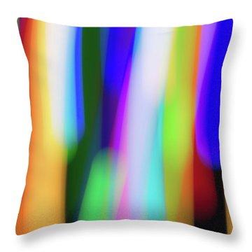 Chromatism Throw Pillow