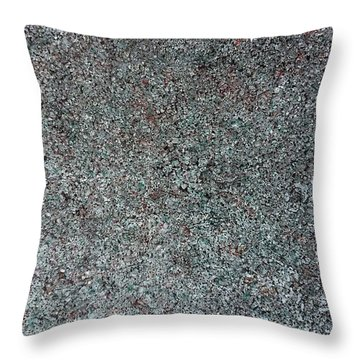Chrome Mist Throw Pillow