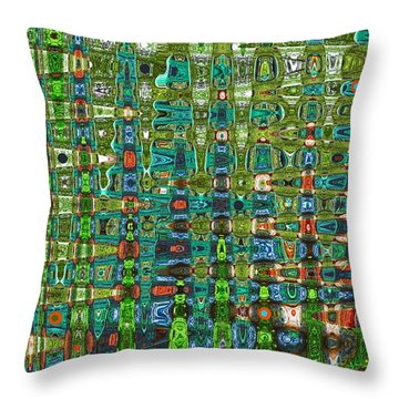 Throw Pillow featuring the photograph Chromosome 22 by Diane E Berry