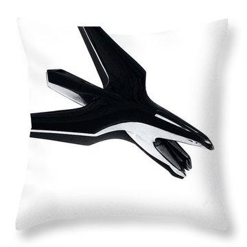 Chrysler Eagle Mascot Throw Pillow