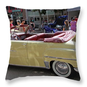 Chrysler Windsor Throw Pillow