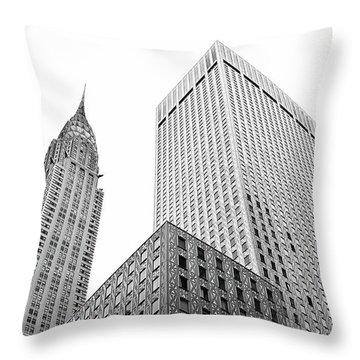 Chrystler Lofts Throw Pillow by Rennie RenWah