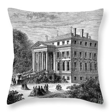 ChÂteau Margaux, 1868 Throw Pillow by Granger