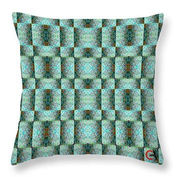 Chuarts Epic Illusion 1b2 Throw Pillow