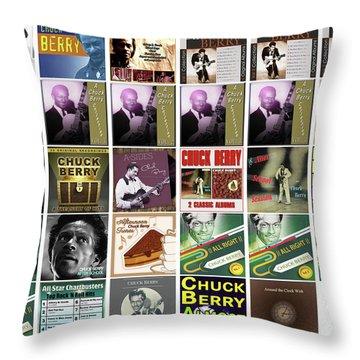 Chuck Berry 1 Throw Pillow