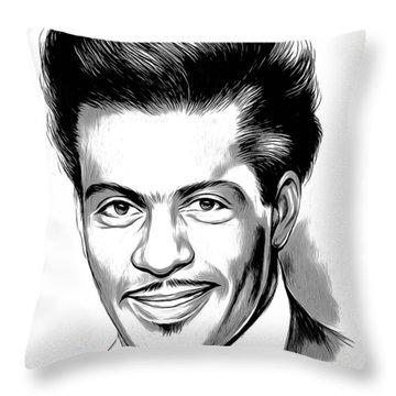 Chuck Berry 2 Throw Pillow