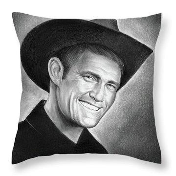 Chuck Connors Throw Pillow