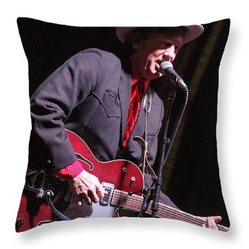 Chuck Mead Throw Pillow