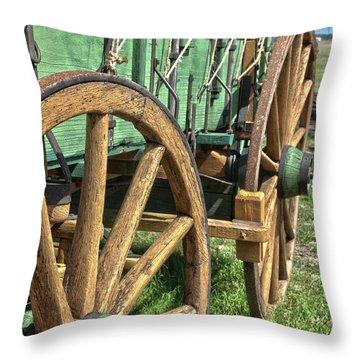 Chuck Wagon3 Throw Pillow