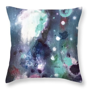 Chucks Orbit Throw Pillow