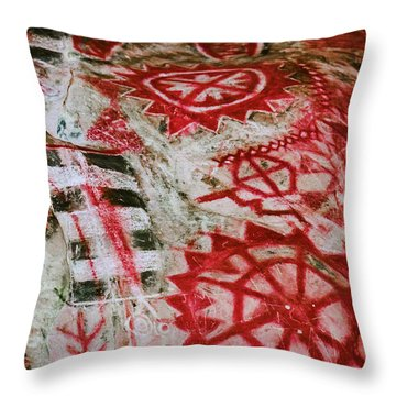 Chumash Painted Cave State Historic Park Throw Pillow