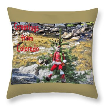 Chumps Christmas Throw Pillow