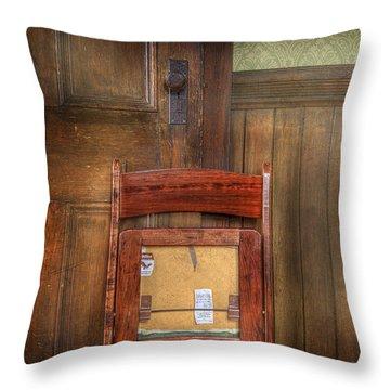 Church Chair II Throw Pillow