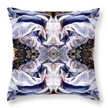 Church Clothing Throw Pillow by Ron Bissett